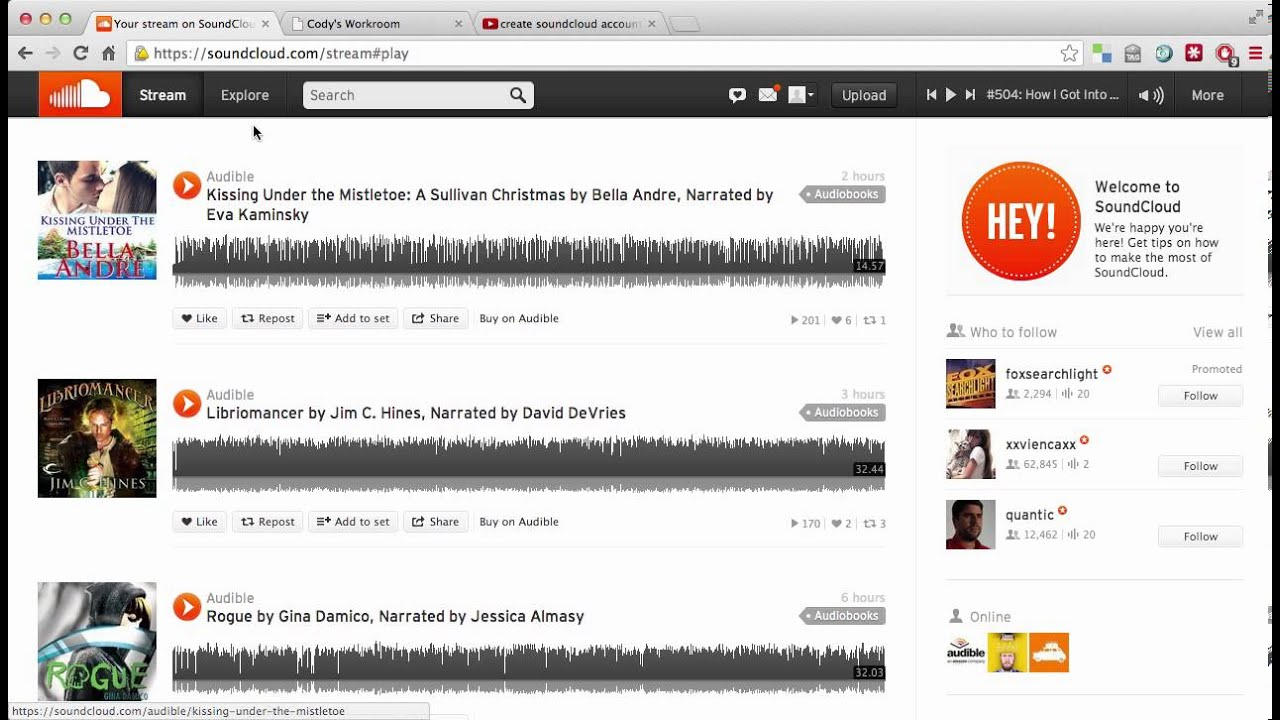 How to use Soundcloud for Distance Education