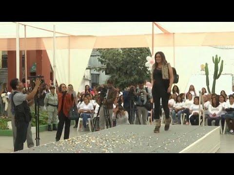 شاهد: سجينات في بيرو يقدمن عرضا للأزياء في السجن  - 17:53-2019 / 5 / 12
