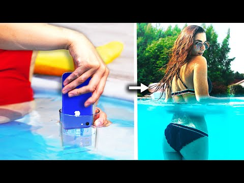 7 Funny And Creative Photo Ideas Phone Photography Hacks And More Diy Ideas Youtube