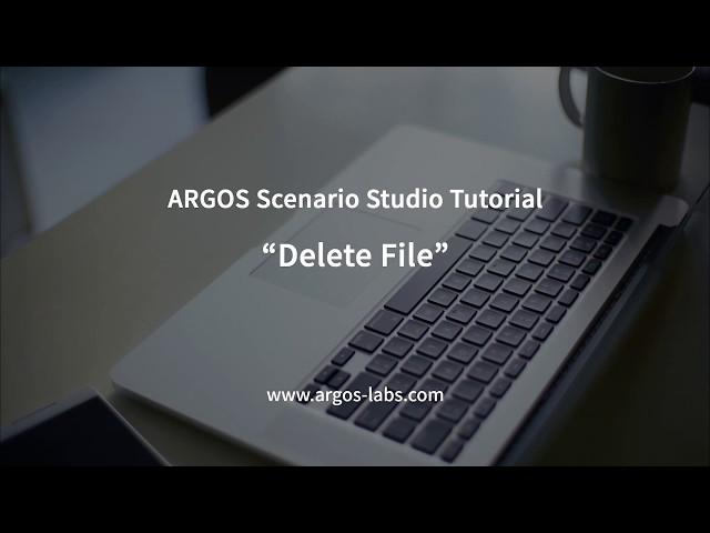 ARGOS RPA Delete File
