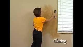 видео Декоративная покраска стен валиком, губкой, специальными составами (фото)