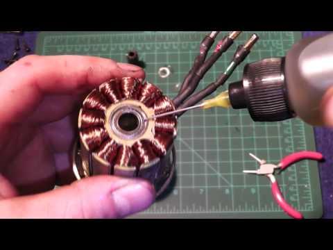 R/C Heli Tutorial #10 Proper Motor Maintenance