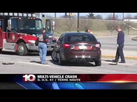 Three car accident on south side of Terre Haute