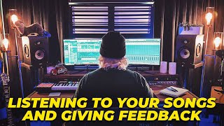 Listening To YOUR Music & Giving Feedback On Our Live Stream | Make Pop Music