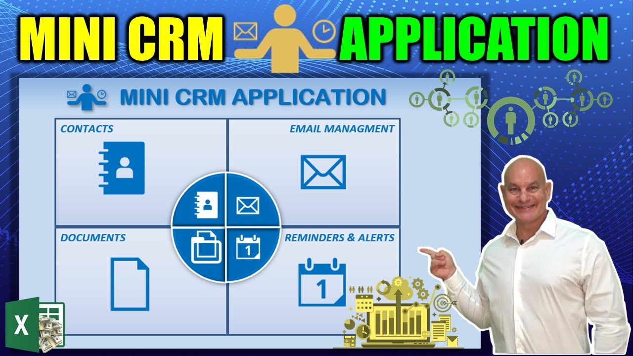 Learn How To Create This Mini CRM Application In Excel Today [Full Course + Free Download]
