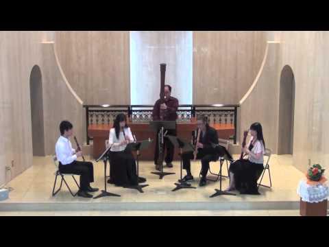 Mozart The Magic Flute Overture (Recorder Quintet)