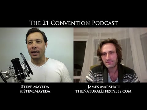 James Marshall on 21 Radio with Steve Mayeda | Full Length HD