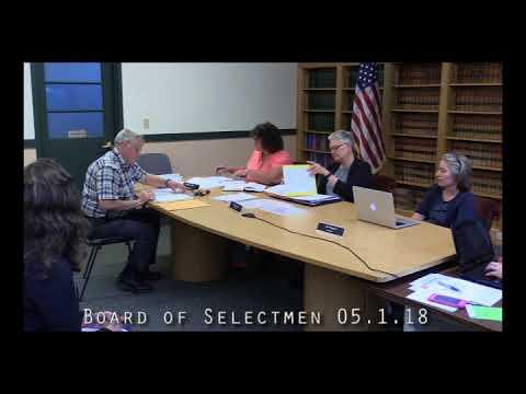Board of Selectmen 05.21.18
