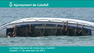 Diada Nacional de Catalunya 2012 a Calafell