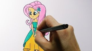 How to Draw a Human Fluttershy