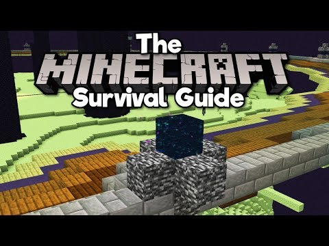 how-to-break-bedrock-in-1.14!-▫-the-minecraft-survival-guide-(tutorial-lets-play)-[part-186]