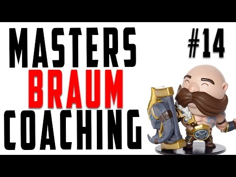 Masters Coaching #14 - Braum Support  (Silver 2)