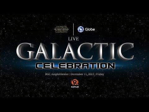 LIVE: Globe-Star Wars Galactic Celebration