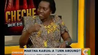 I did not declare my support for Uhuru in 2017 - Martha Karua
