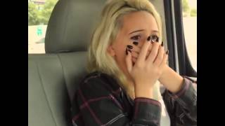 Bea Miller hears her own song on the radio for the first time