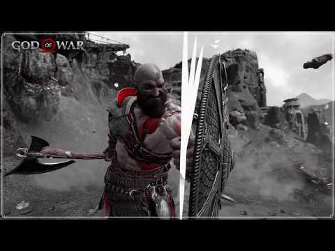 Testando O Modo Foto De God Of War!