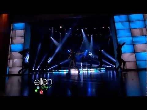 Usher - Numb (The Ellen DeGeneres Show 2012-12-13)