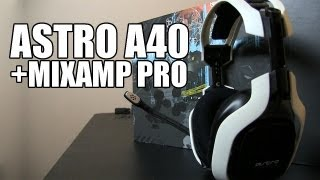Astro A40 (2013 Ed.) + Mixamp Pro Unboxing