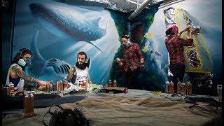 Underwater Spa Mural 2017