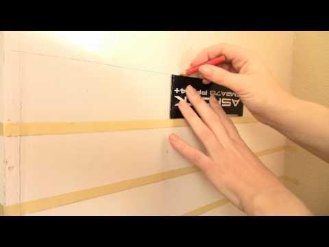 Имитация кирпичной стены из раствора.Ремонт своими руками.