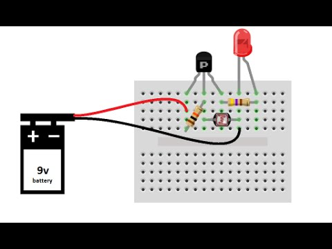 LIGHT DETECTOR - DIY Project & explanation - YouTube