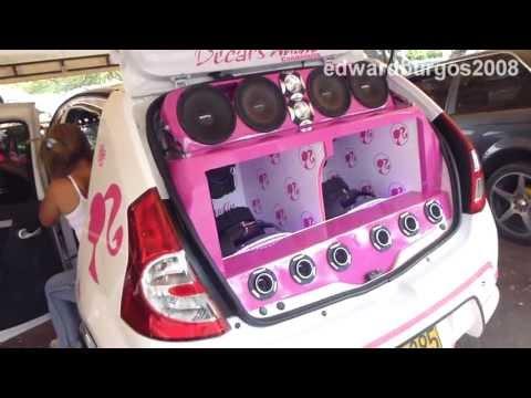 Renault Sandero tuning colombia sonido sobre ruedas 2014 cali