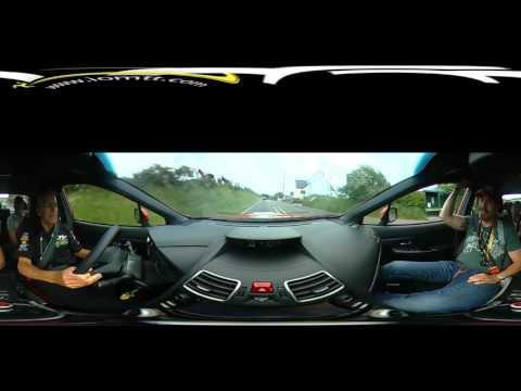 Isle of Man TT 2016 VIP Subaru Lap in 360 degrees