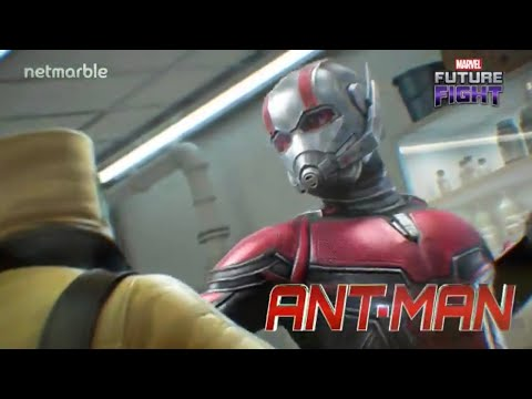 ANTMAN & THE WASP FIRST LOOK !! GHOST IS HERE ?!?!? | Marvel Future Fight