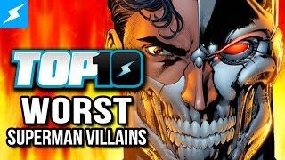 Top 10 Worst Superman Villains w/ Greg Miller