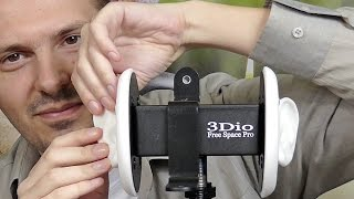 ★ 3Dio Free Space Pro Pure Binaural Ears Massage ASMR for Sleep.