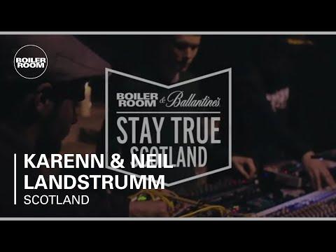 Karenn & Neil Landstrumm – Boiler Room & Ballantine's Stay True Scotland – In Stereo