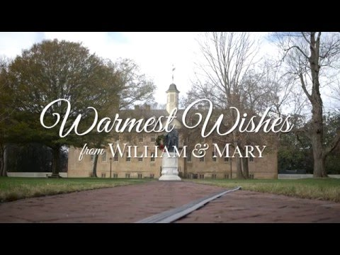 Warmest Wishes from William & Mary