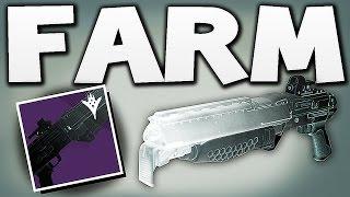 Destiny - STOLEN WILL SHOTGUN How to Farm Taken Shotgun EASY !!
