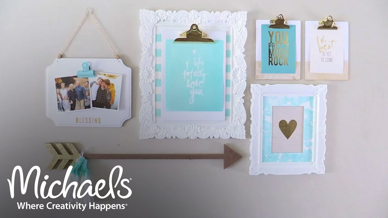 Heidi Swapp: Gallery Wall Overview | All About Framing | Michaels ...