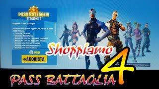 Shoppo the Pass Battle 4 of Fortnite