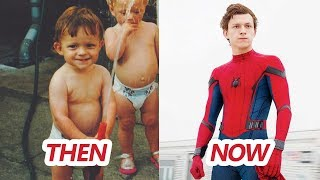 Spiderman Tom Holland Transformation Then And Now (Haircut & Hairstyle & Body & Tattoos & Teeth)