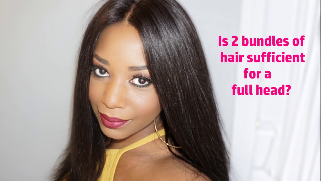 Is Two Bundles Of Hair Enough For A Full Head Demo Youtube