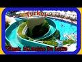 День #7 Турция Море детская площадка, пирс, катаемся на водных горках, Белек Limak Atlantis De Luxe