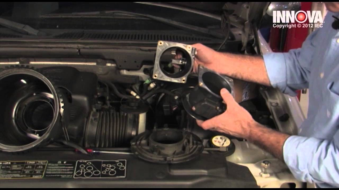 How To Change Mass Air Flow Maf Sensor 2002 Ford F150 Youtube
