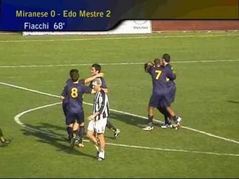 Miranese-Edo Mestre, strepitoso Tagliapietra e goal Fiacchi