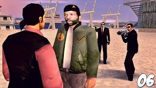 GTA Liberty City Stories Walkthrough Gameplay Part 6 - Mission Failed... | 1080p (PPSSPP)