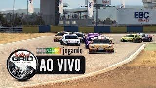Flagamer jogando AO VIVO o Grid Autosport (PC)