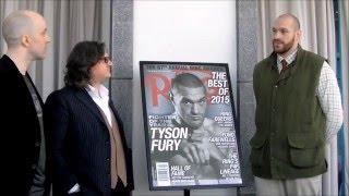 Tyson Fury receives Ring magazine heavyweight belt