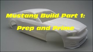 Revell:2013 Ford Mustang Boss 302 Part 1/7