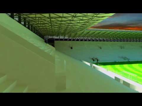 Projeto (não oficial) do Estádio acústico da Gávea 🏟 Aprovaram?