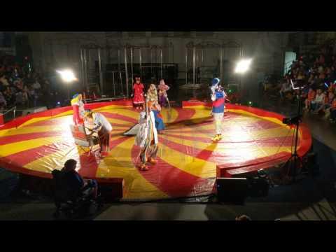 Oasis Clowns at the 2017 Hejaz Shrine Circus