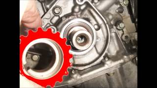 How to change a timing belt on a 1.8l perol Citroën/Peugeot engine