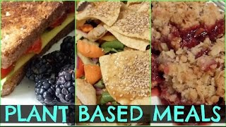 What I Eat In A Day #2 (PLANT BASED RECIPES) + Fitness Routine