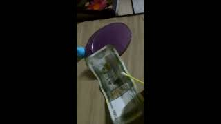 Remove turmeric (Haldi)/ ink mark from 500/- (500 rs) note