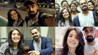 Teaching Simran Dhanwani how to Vlog!   Jadoo Vlogs